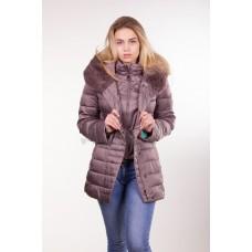 Куртка женская Daser TH16-046 темно-бежевая