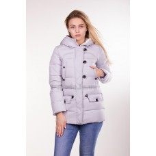 Куртка женская короткая IceBear 6138 светло-серая