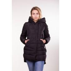 Куртка зимняя женская Lora Duvetti 6059 черная