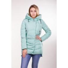Куртка зимняя женская Lora Duvetti 6059 мята