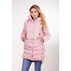 Куртка зимняя женская Lora Duvetti 6059 персик