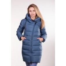 Куртка зимняя женская Lora Duvetti 6062 синяя