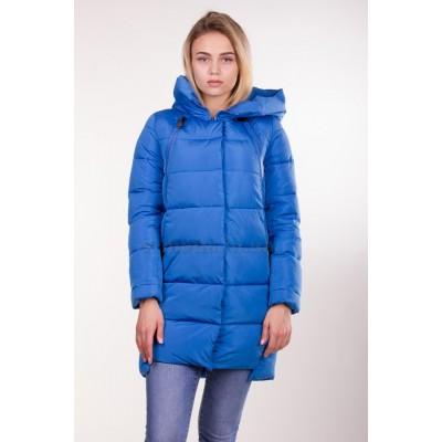 Куртка зимняя женская Lora Duvetti 6103 синяя
