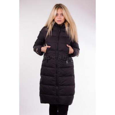 Пальто женское Clasna CW17D-001 чёрное