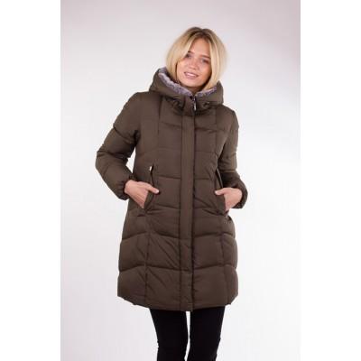Куртка женская Clasna CW17D-579 хаки