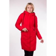 Пальто женское  Fulanxin 17752 красное