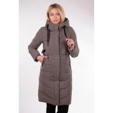 Пальто женское  Fulanxin 17801 хаки
