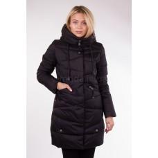 Куртка зимняя женская Lora Duvetti 17088 чёрная