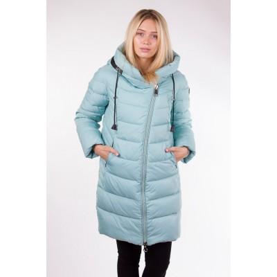 Куртка зимняя женская Lora Duvetti 6062 мята