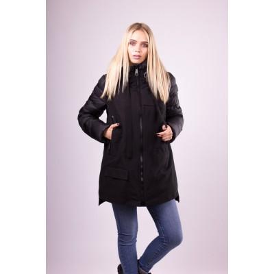 Куртка женская  Clasna CW18D-305 черная