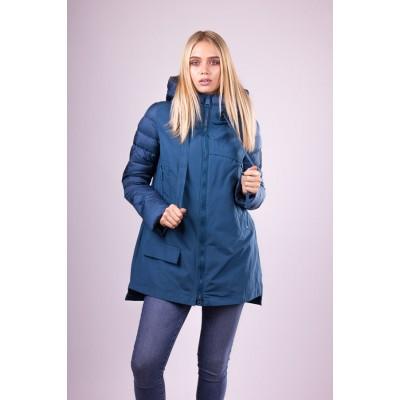 Куртка женская  Clasna CW18D-305 синяя
