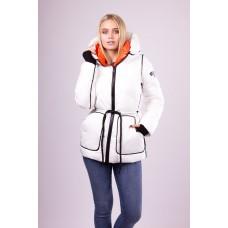 Куртка женская  Evacana EW-9083 белая
