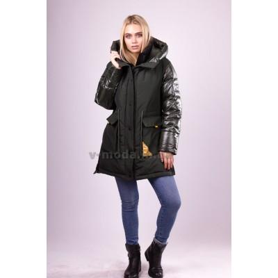 Куртка женская  Evacana EW-9133 хаки