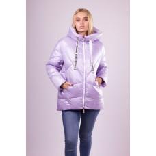 Куртка женская  Evacana EW-9050 фиолетовая