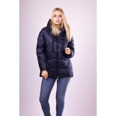 Куртка женская  Evacana EW-9050 фиолетово-синяя