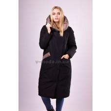 Пальто женское Ferenix  A-163 черное