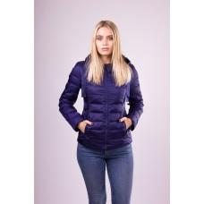 Куртка женская короткая SnowImage N111 темно-синяя