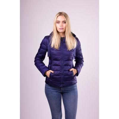Куртка женская  SnowImage N111 темно-синяя