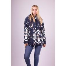 Куртка женская демисезонная VLASTA N307 синяя