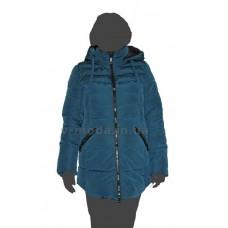 Куртка женская CLASNA 14D-119 зеленая