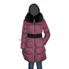 Пальто женское Daser TD11-191 брусничное