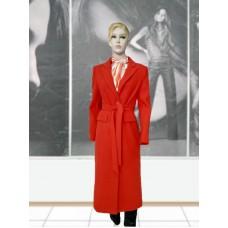 Пальто шерстяное демисезонное ELVI Д-912 красное
