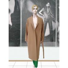 Пальто шерстяное демисезонное ELVI Д-916 кемел