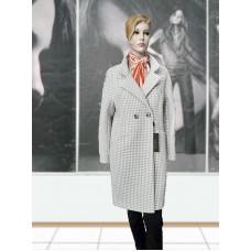Пальто шерстяное демисезонное ELVI Д-917 светлое