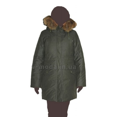 Пуховик женский (парка) двусторонняя G-6180 ICEbear