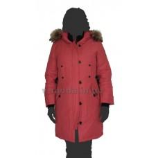 Пуховик женский (парка) ICEbear 14G-6243 красный