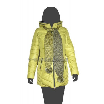 Куртка женская ICEbear 14G-658 лайм