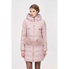 Куртка зимняя женская Lora Duvetti 18188 розовая
