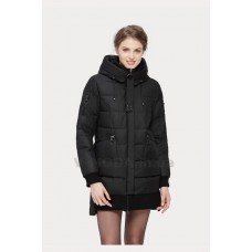 Куртка зимняя женская Lora Duvetti 18345 черная
