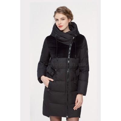 Куртка зимняя женская Lora Duvetti 18353  черная