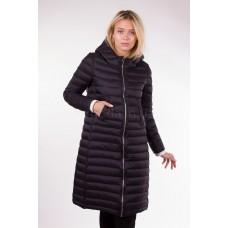 Пальто демисезонное женское Misun-G772 чёрное