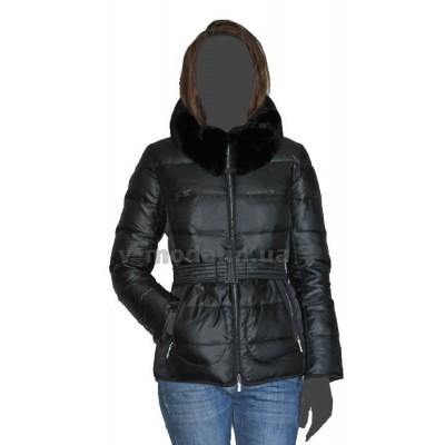 Куртка пуховая женская SnowImage SID-B332 черная
