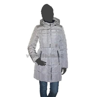 Пуховик женский SnowImage SID-B501 светло-серый
