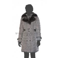 Пуховик женский SnowImage SID-B510 серый