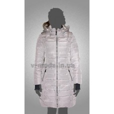 Пуховик женский SnowImage SID-B523 светло-серый