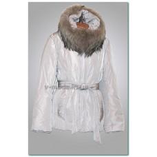 Куртка женская Clasna CL193 светло-серая
