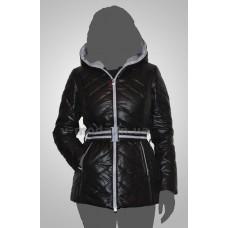 Пуховик женский SnowImage SID-115 черный