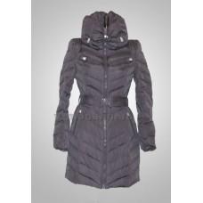 Пуховик женский SnowImage SID-M-535 темно-серый