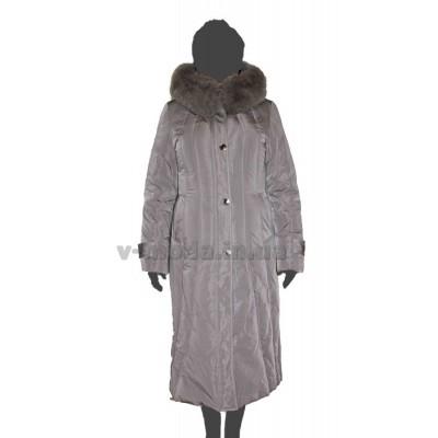 Пуховик женский SnowCrest SnCr-A13-ser