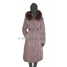 Пальто женское SnowCrest SnCr-Z02 пудра