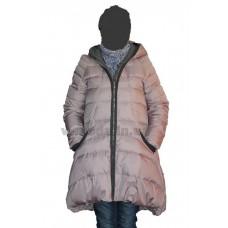 Куртка пуховик женская Sara Leona 016 розовая