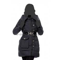 Куртка пуховик женская Sara Leona 487 черная