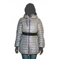 Куртка женская пуховая SnowImage SID-H319 серый