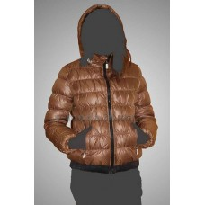 Куртка женская Vlasta VLD-H101 коричневая